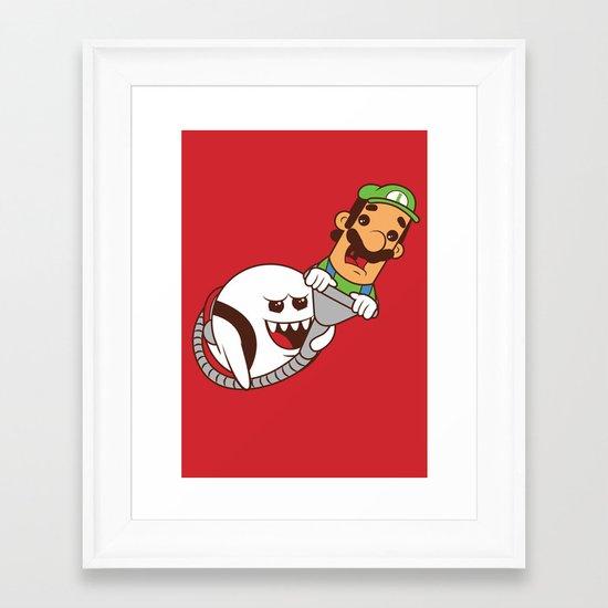 Boo's revenge Framed Art Print