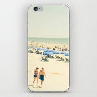 Beach People iPhone & iPod Skin