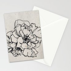 Flower Hairpin Stationery Cards
