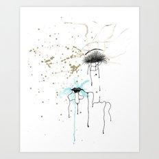 Keep Hustlin' Art Print