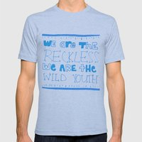 Youth Mens Fitted Tee Athletic Blue SMALL