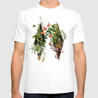 In Between Mens Fitted Tee White SMALL