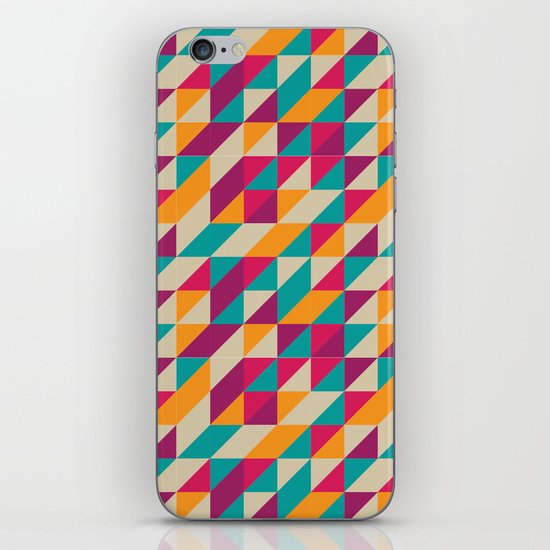 Triangles Pattern iPhone & iPod Skin