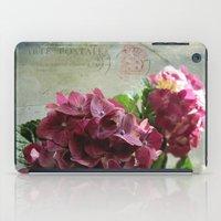 Carte Hydrangea iPad Case