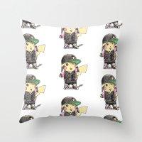 PikaSwag! Throw Pillow