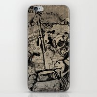 Berlin Street Art Concre… iPhone & iPod Skin