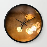 Lost In The Periphery Wall Clock