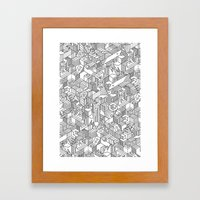 UNHABITATS Framed Art Print
