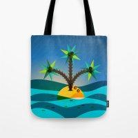 Palm Island Tote Bag