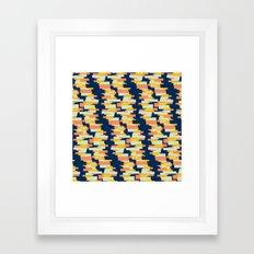 BP 62 Rectangle Stripes Framed Art Print