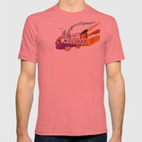 Childhood drawing Mens Fitted Tee Pomegranate SMALL