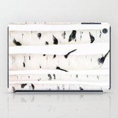 birch  watercolor  iPad Case