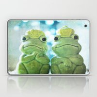 Mr And Mrs Frog Laptop & iPad Skin