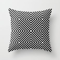 Chevron Diamond ///www.p… Throw Pillow