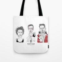 Fight Club - Triptych Tote Bag