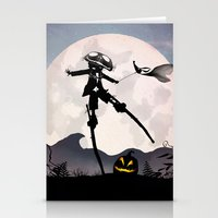 Jack Skellington Kid Stationery Cards