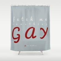 Something Gay - Felix Da… Shower Curtain
