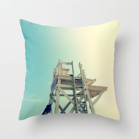 End of Summer Nostalgia II Throw Pillow