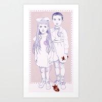 Heart Replacement Art Print