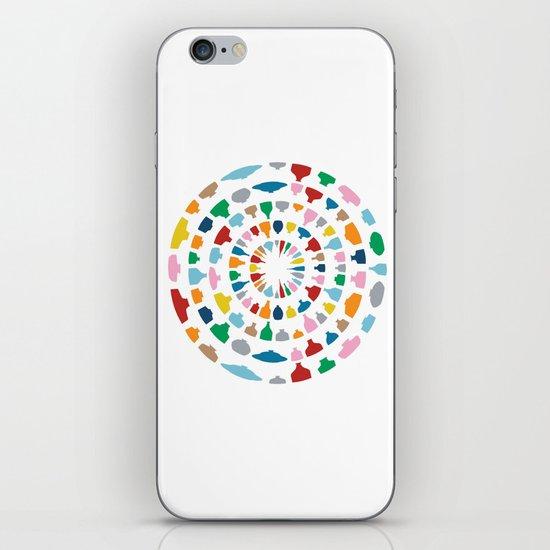 Wine o'Clock on White iPhone & iPod Skin