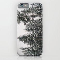 Snowy Paradise Slim Case iPhone 6s