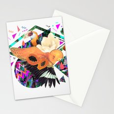 PAPAYA by Carboardcities and Kris tate Stationery Cards
