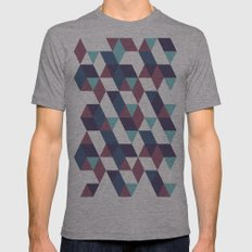 Trangled Mens Fitted Tee Athletic Grey SMALL