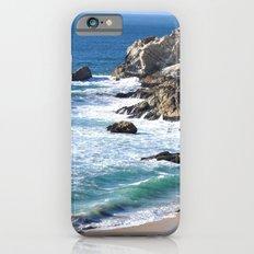 CALIFORNIA COAST - BLUE OCEAN iPhone 6 Slim Case