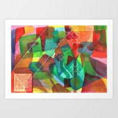 Enav Art Print