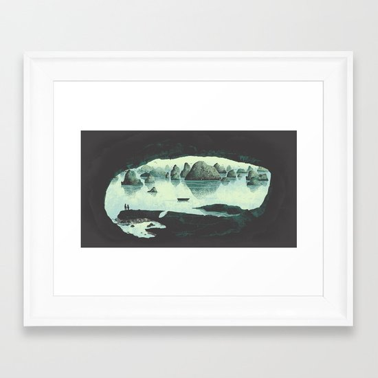 In the Belly of a Beast Framed Art Print