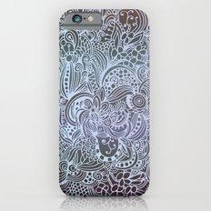 Detailed square, grey'n wedgwood Slim Case iPhone 6s