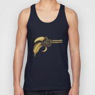 Banana Gun Unisex Tank Top