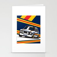 Ford Escort RS2000 Stationery Cards