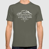 NOT SHAKEN Mens Fitted Tee Lieutenant SMALL
