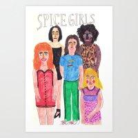 The Spice Girls Art Print
