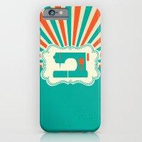 Sew-burst iPhone 6 Slim Case