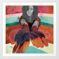 No Art Can Help Me With … Art Print