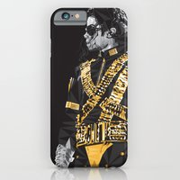 iPhone & iPod Case featuring Dangerous - MJ by Cat Lines