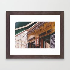 Shakespeare and co Framed Art Print
