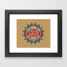 The Bicycle Lair Framed Art Print