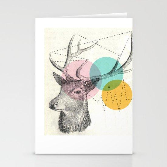 stitch doe Stationery Card