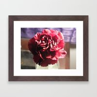 A Glimpse Of Romance Framed Art Print