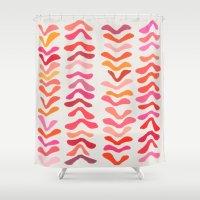 Rhythm Shower Curtain