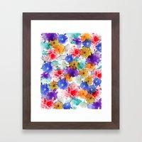 Printed Silk Exotic Gard… Framed Art Print