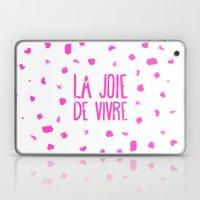 Pink French Typography B… Laptop & iPad Skin