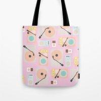 Music Lover Pastel Tote Bag