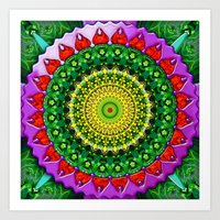 Floradora Art Print