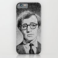 Woody Allen portrait  iPhone 6 Slim Case