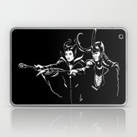 Dark Fiction Laptop & iPad Skin