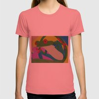 Tree Frog Womens Fitted Tee Pomegranate SMALL